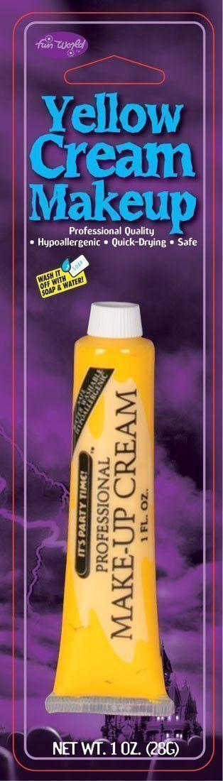 Грим для макияжа желтый (UNI) - Грим и шрамы