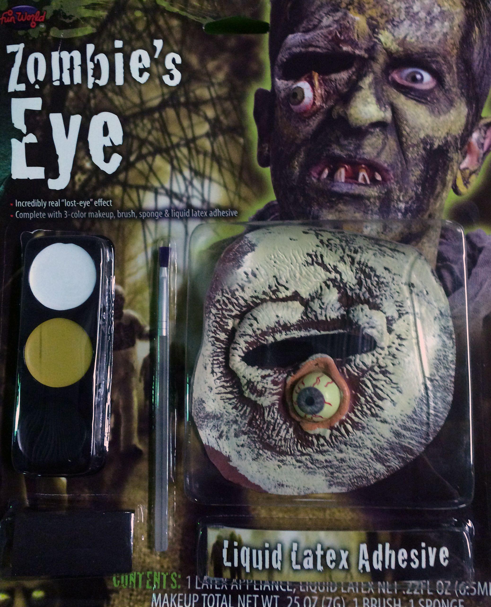 Набор для зомби с вытекшим глазом (UNI) - Грим и шрамы