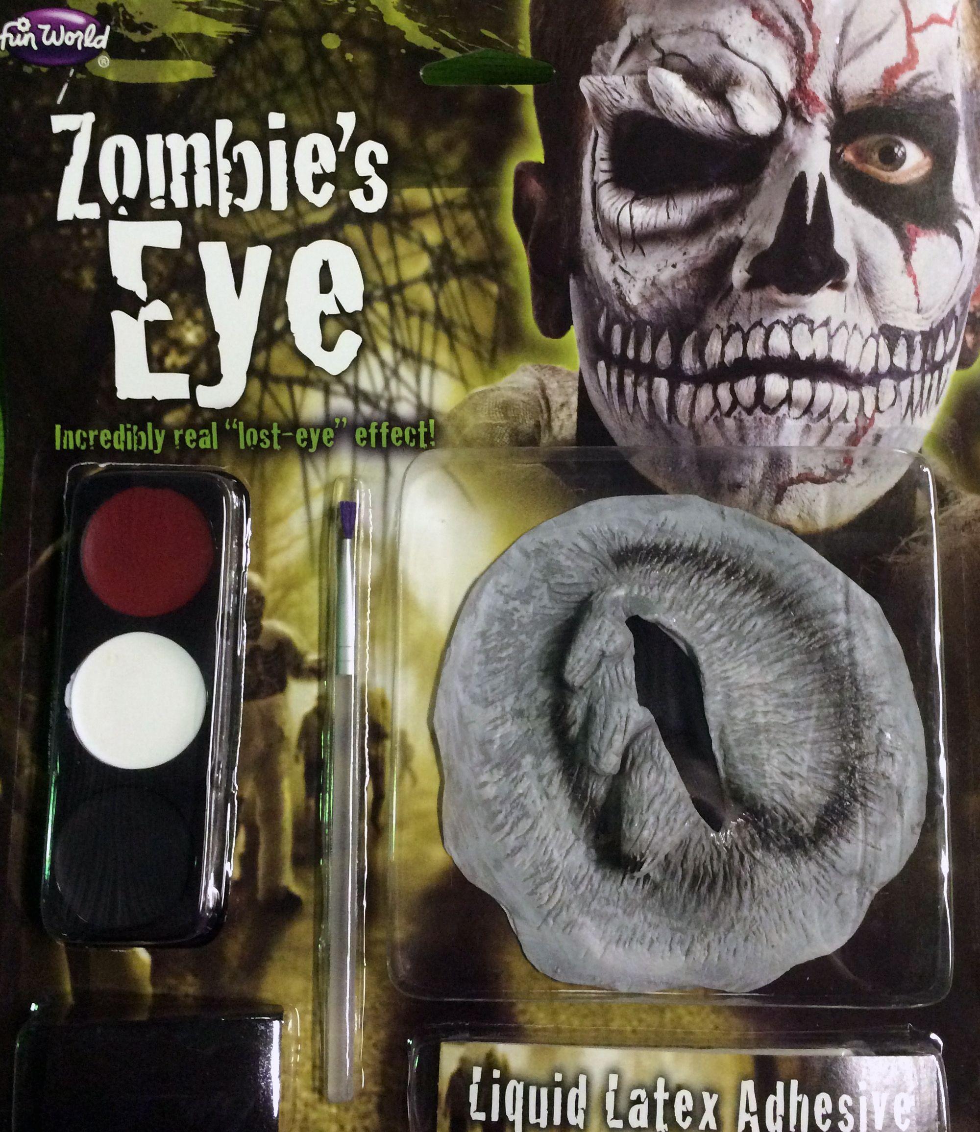 Набор для грима зомби без глаза (UNI) - Грим и шрамы