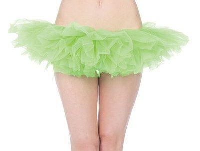 Ярко-зеленая Туту юбка (42-44)