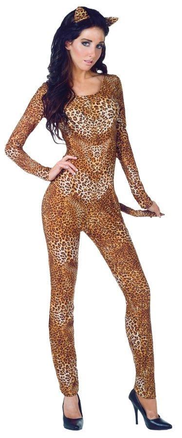 цена Костюм дерзкой леопардши (48-50) онлайн в 2017 году