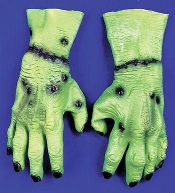 Зелёные раненые руки от Vkostume