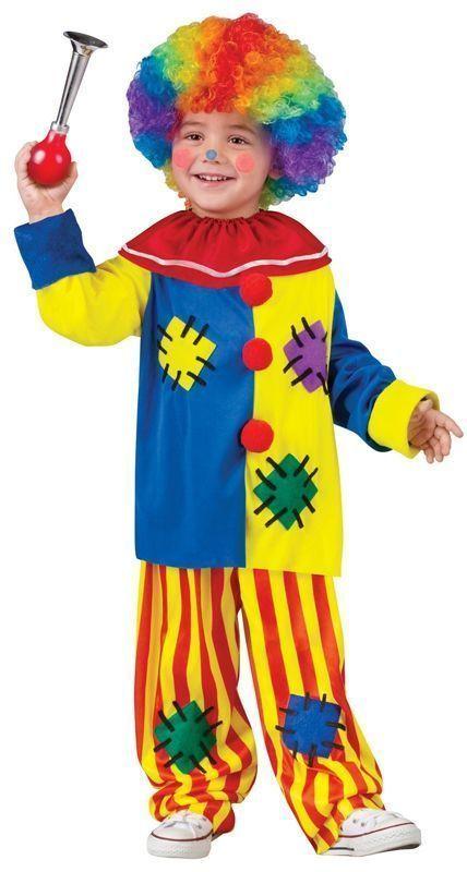 Детский костюм заводного клоуна (28) - Юмор, р.28