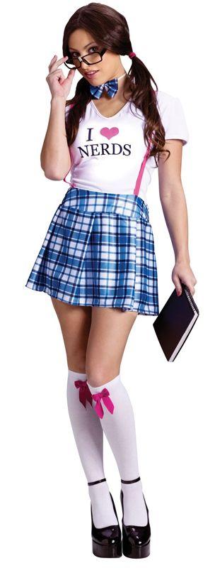 Костюм забавной школьницы (46-48) - Школьницы и студентки, р.46-48