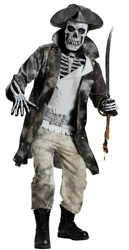 Костюм мёртвого пирата (56) - Зомби и мертвецы, р.56
