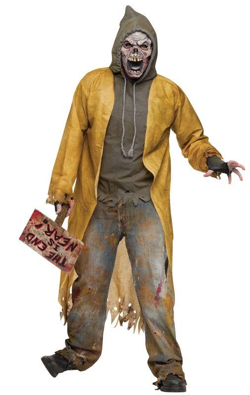 Костюм уличного зомби (42-52) - Вампиры и Вампирши, р.42-52