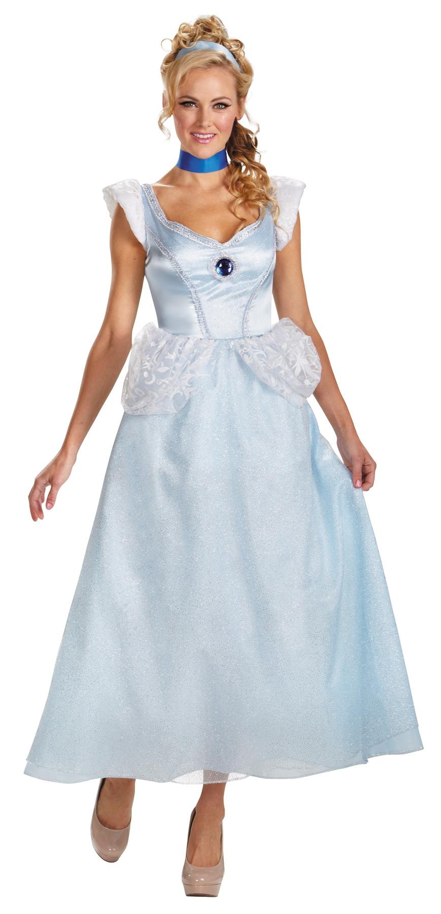 Голубой костюм Золушки (54) - Костюмы больших размеров, р.54