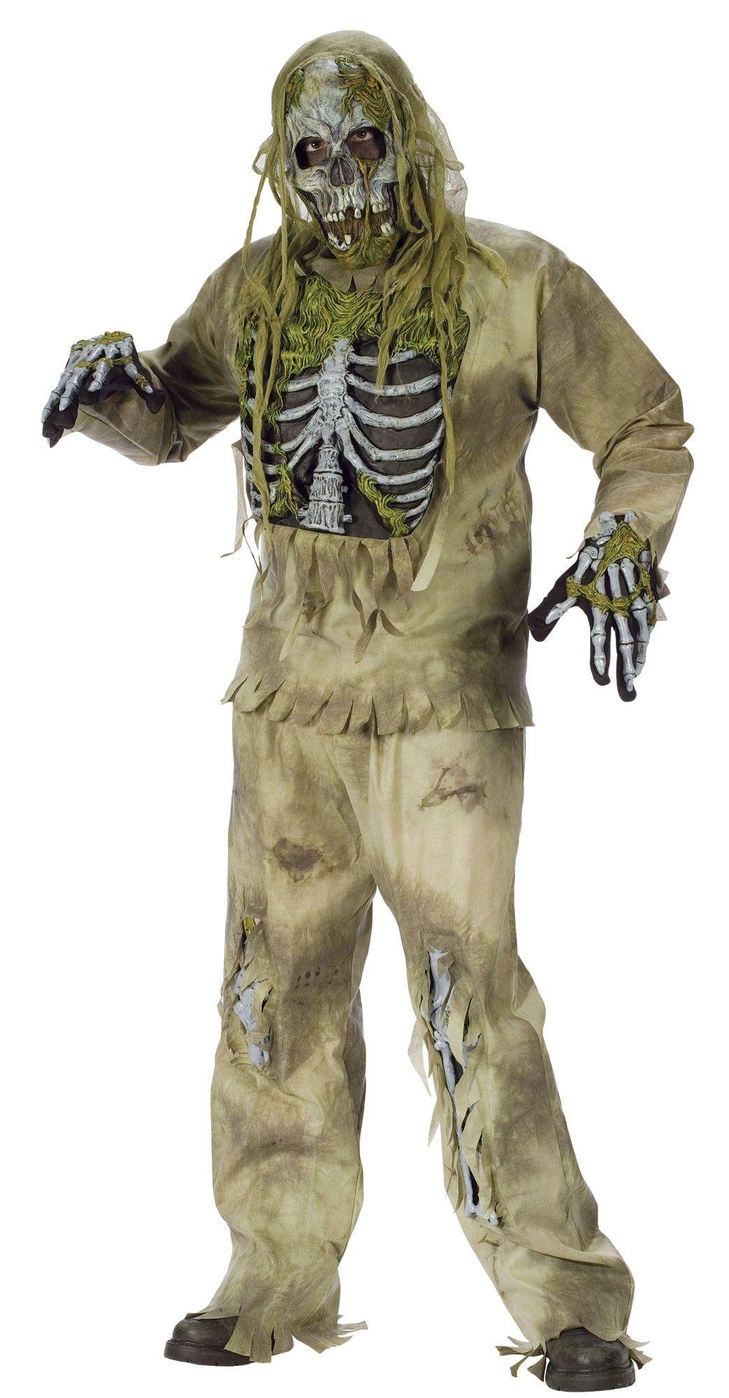 Костюм зомби скелетона (56) - Зомби и мертвецы, р.56