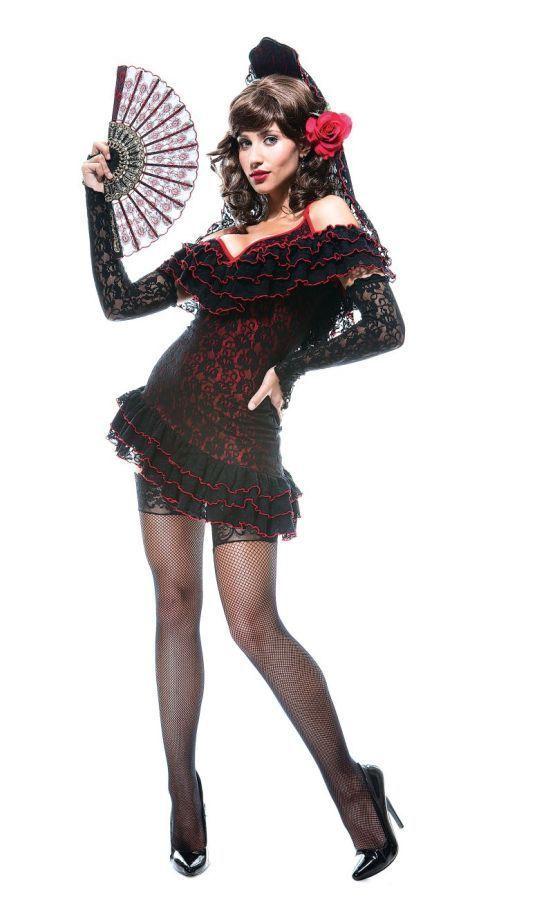 Костюм испанской леди (48) - Национальные костюмы, р.48
