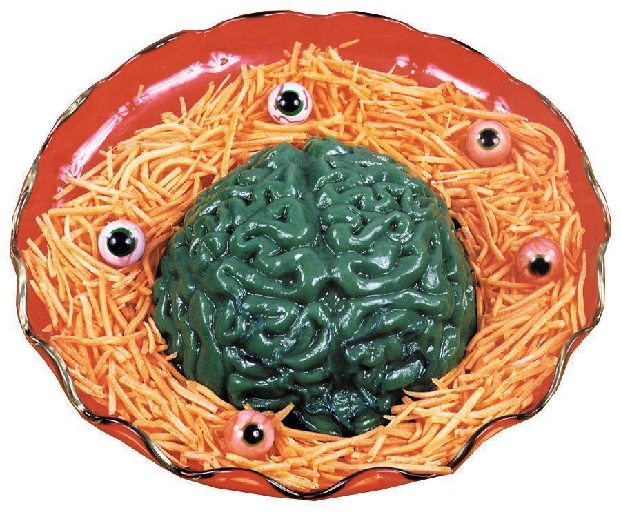 Форма для желе Мозги (UNI) - Аксессуары на Хэллоуин