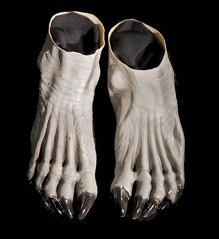 Серые ноги оборотня (UNI) - Аксессуары на Хэллоуин