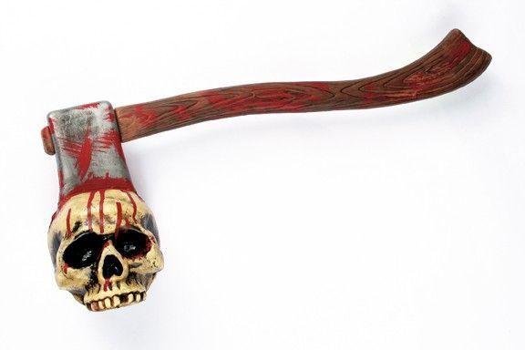 Кровавый топор с черепом (UNI) - Аксессуары на Хэллоуин
