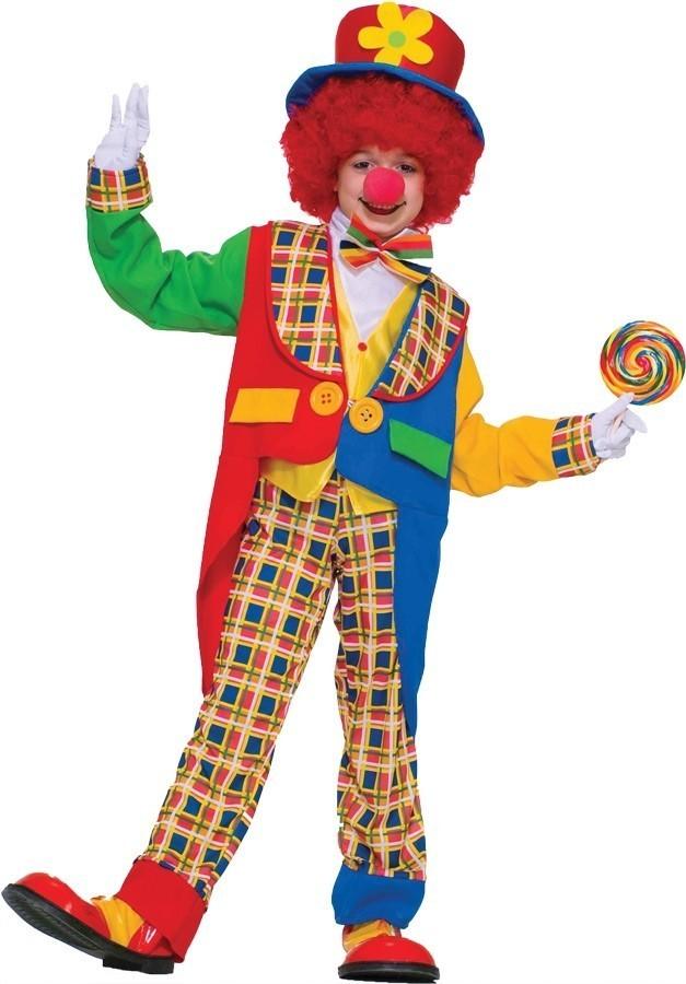 Детский костюм городского клоуна (38-40) - Юмор, р.38-40