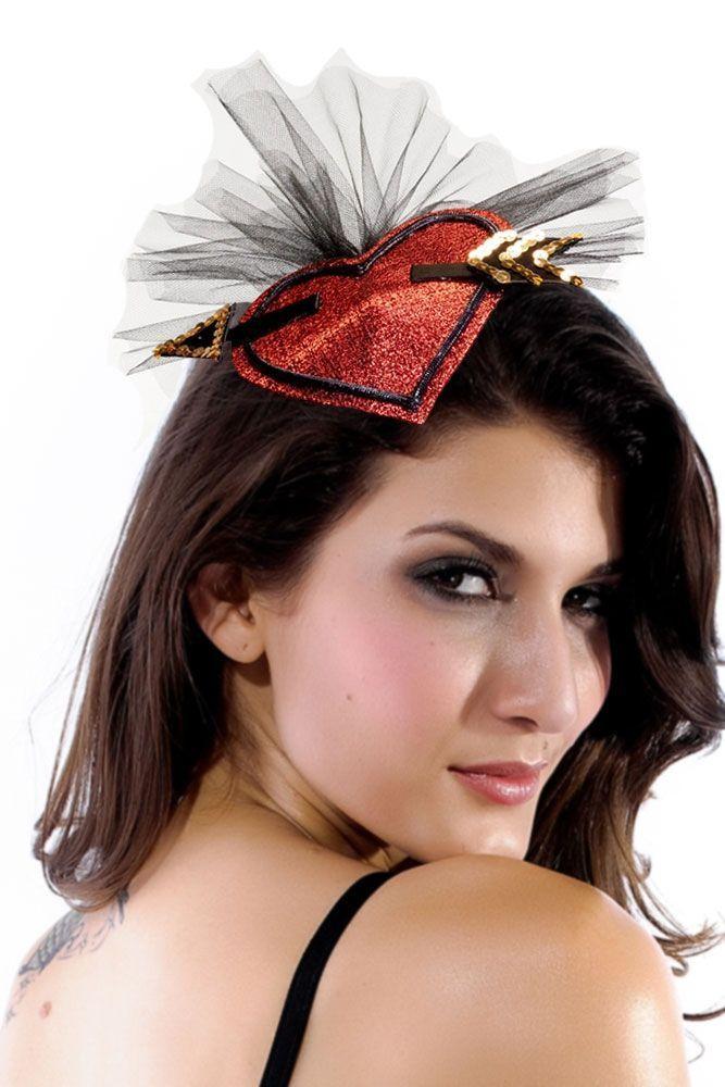 Заколка-шляпка для волос Амур (46) - Аксессуары на карнавал, р.46