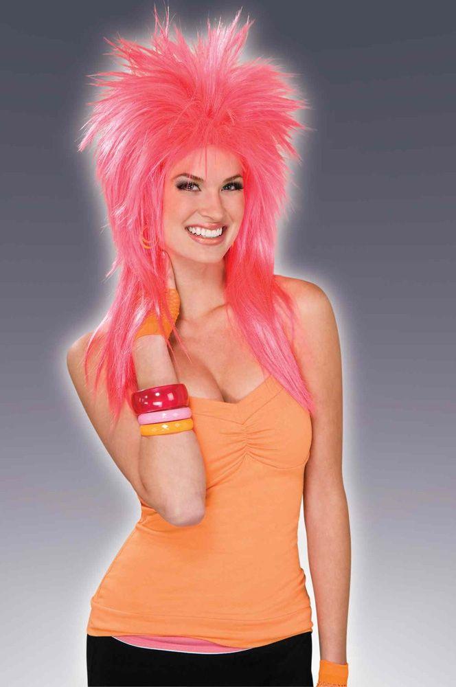 Розовый яркий парик (42-46) - Парики и волосы, р.42-46