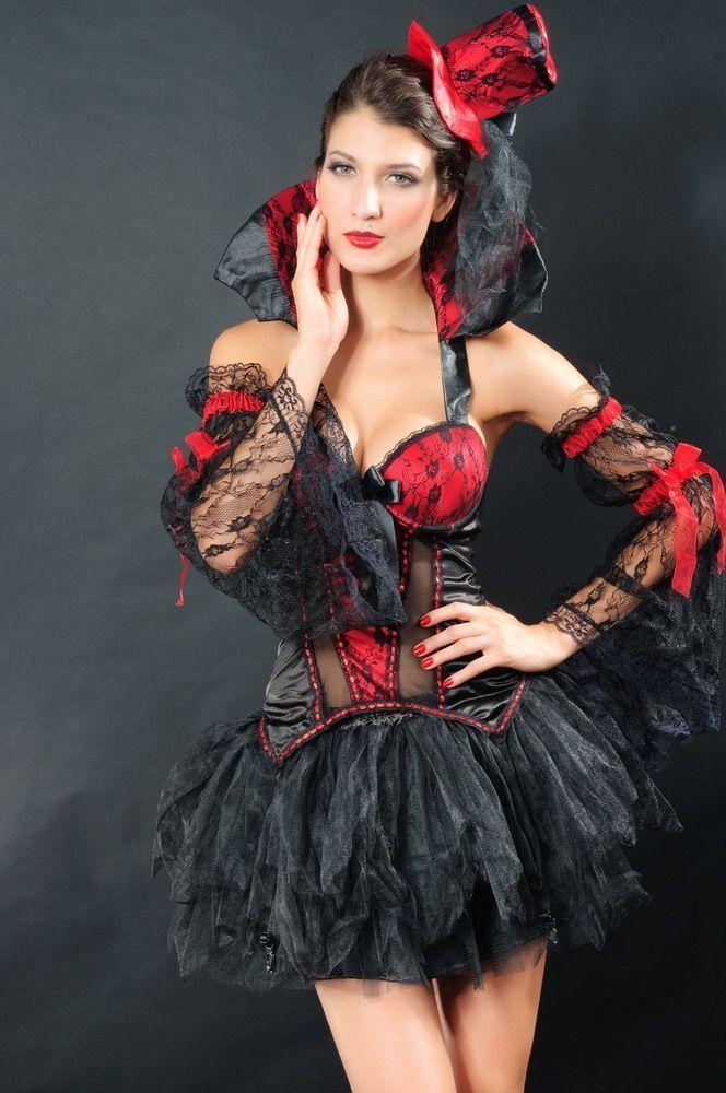 Костюм принцессы Хэллоуина (42) - Вампиры и Вампирши, р.42