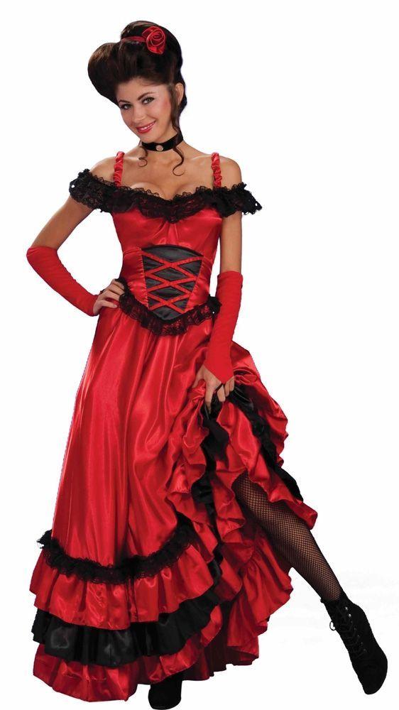 Красно-черный костюм танцовщицы (30) - Национальные костюмы, р.30