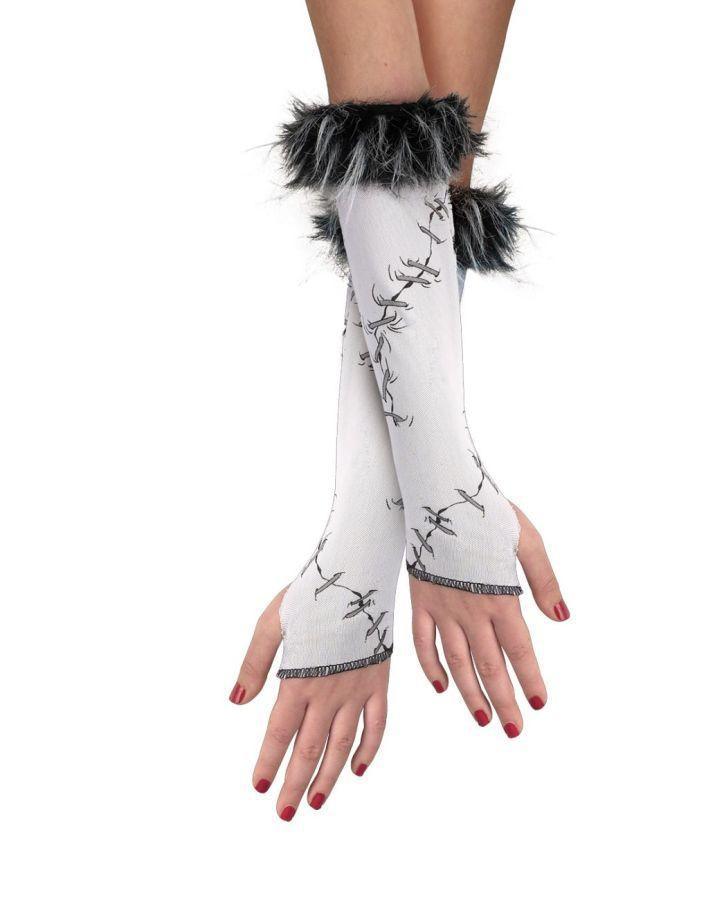 Сшитые детские перчатки (UNI) - Аксессуары на Хэллоуин