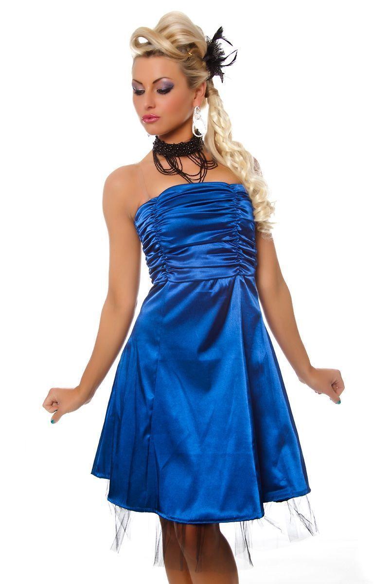 Синие платье на день рождения