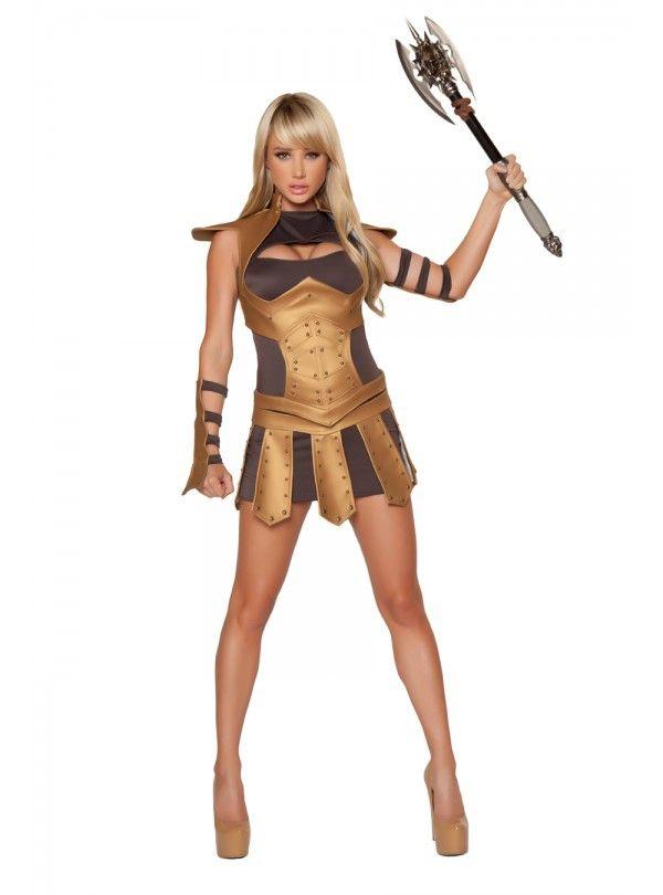 Сексуальный костюм женщины-воина (48-50) костюм римского воина 50 54