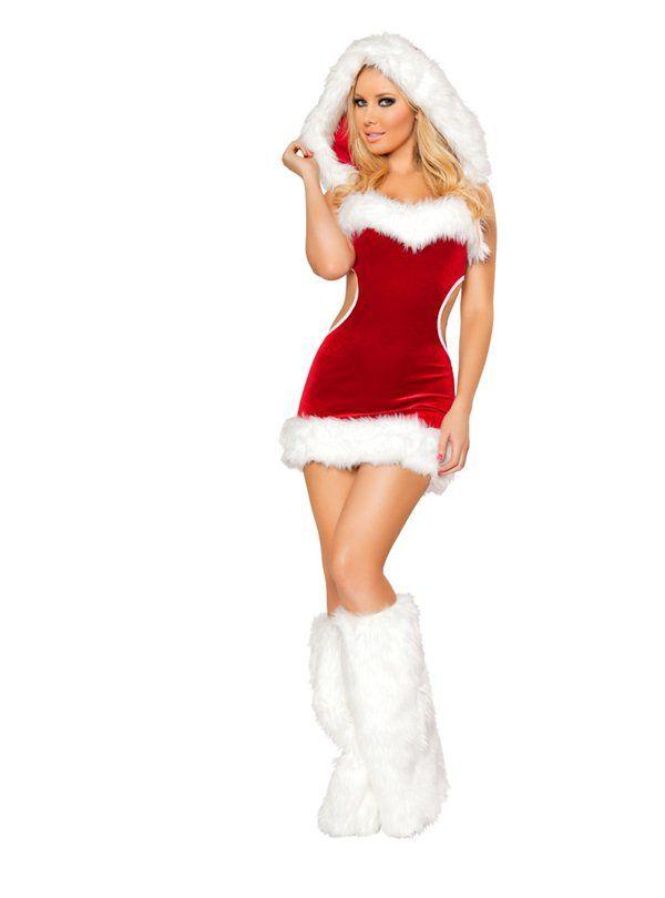 эротический костюм снегурочки фото