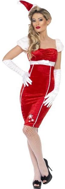 Платье мисс Санты (48-50)