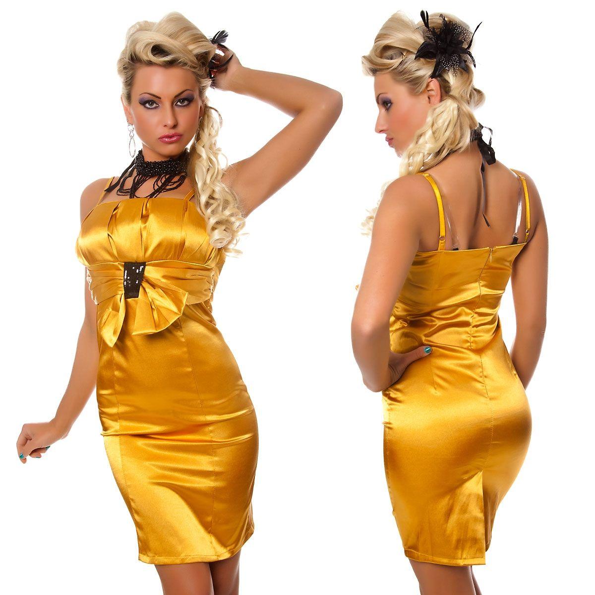 Золотые платья с доставкой