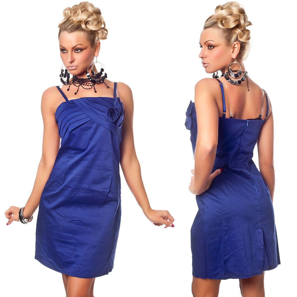 Синее платье с розами (42) Catch Fashion 4925c