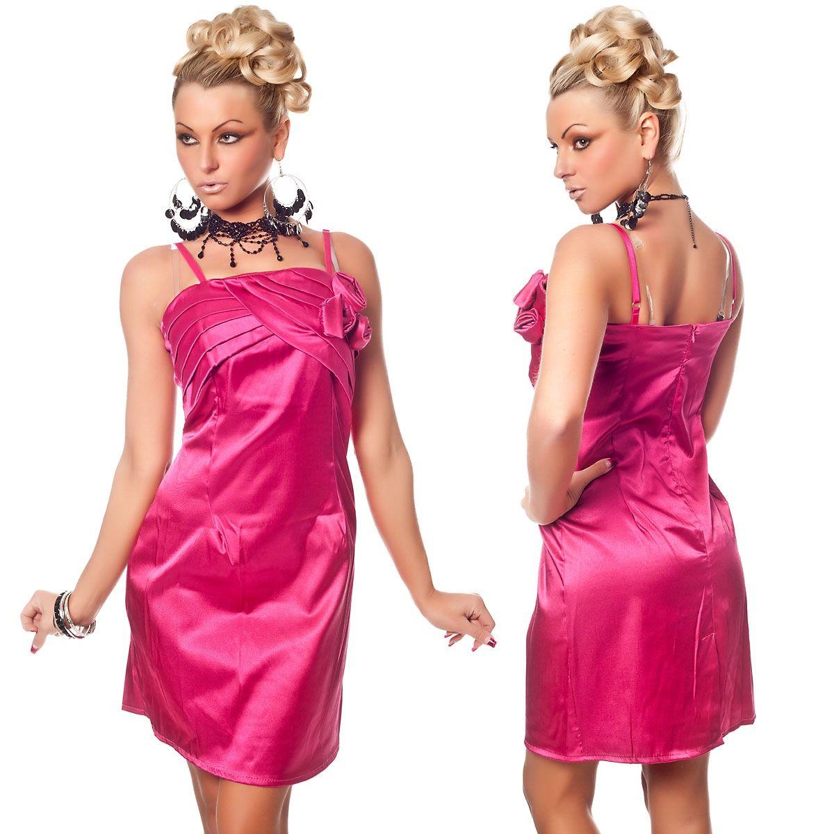 Розовое платье с розочками (42) Catch Fashion 4928c