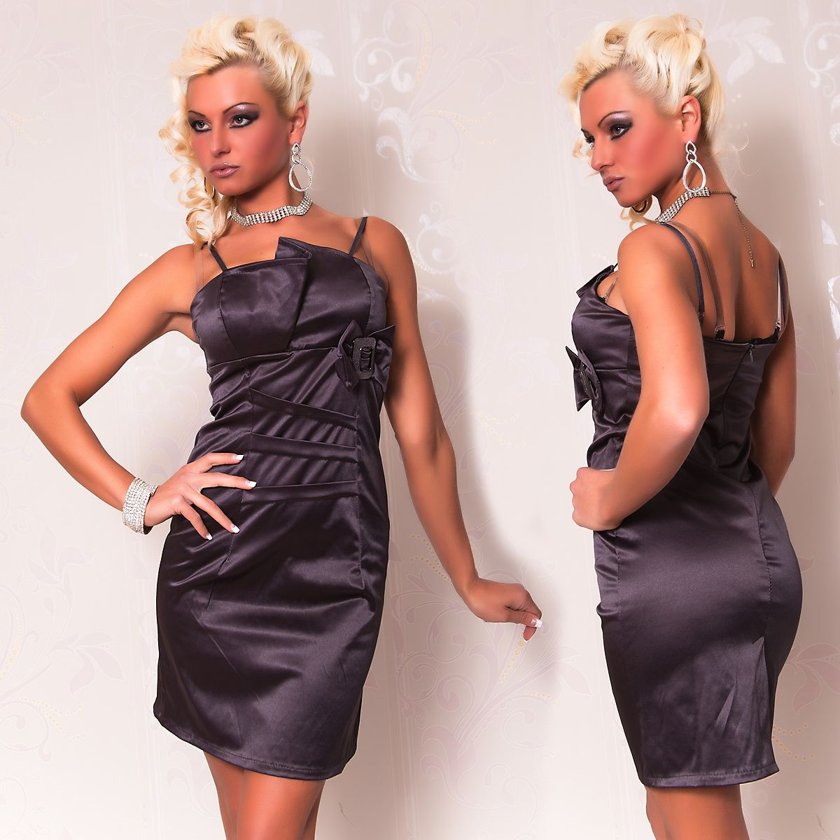 Темно-серое платье-карандаш (42) Catch Fashion 4934b