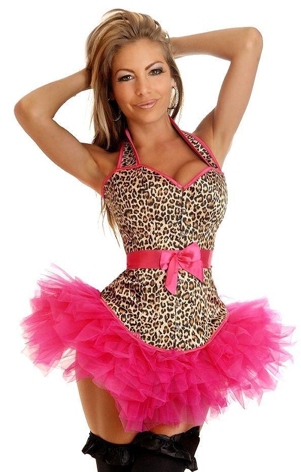 Леопардовый корсет с пачкой (44) Dg Lover 130635614