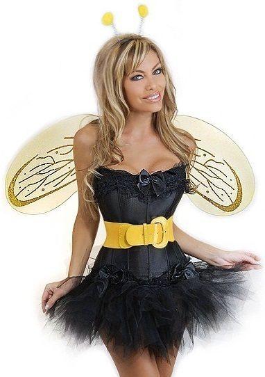 Корсетный костюм пчелки (50) - Животные и зверушки, р.50
