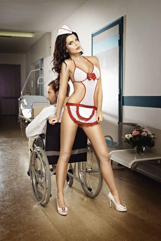 Комплект игривой медсестры (44) - Медсестры, р.44