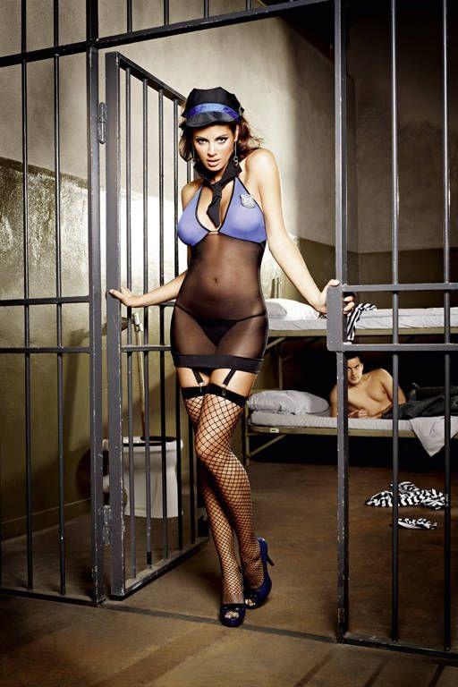 Комплект сексуальной надзирательницы (46-48) - Полицейские и копы, р.46-48