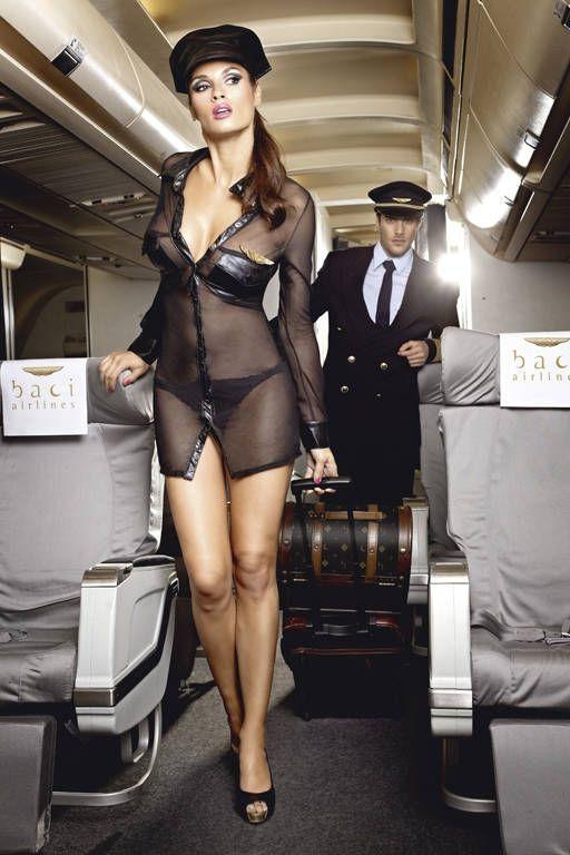 Комплект милой стюардессы (46-48) - Униформа, р.46-48