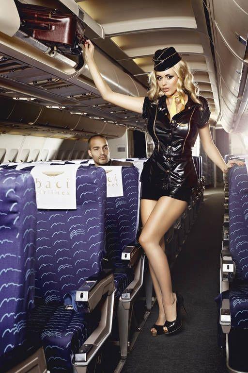 Соблазнительный костюм стюардессы (46) - Униформа, р.46