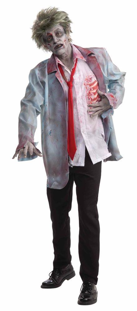 Костюм мужчины зомби (52) - Зомби и мертвецы, р.52