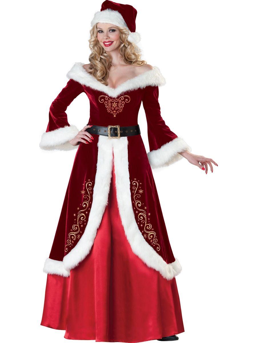 Костюм миссис Санты (52) - Новогодние костюмы, р.52