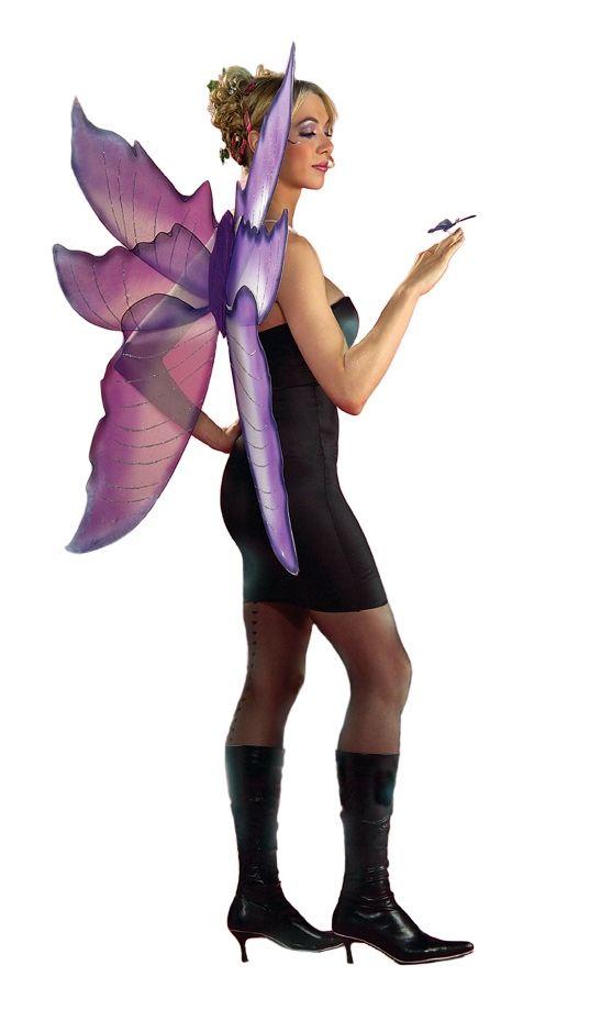 Фиолетовые крылья феи (UNI) rubies костюм феи друида