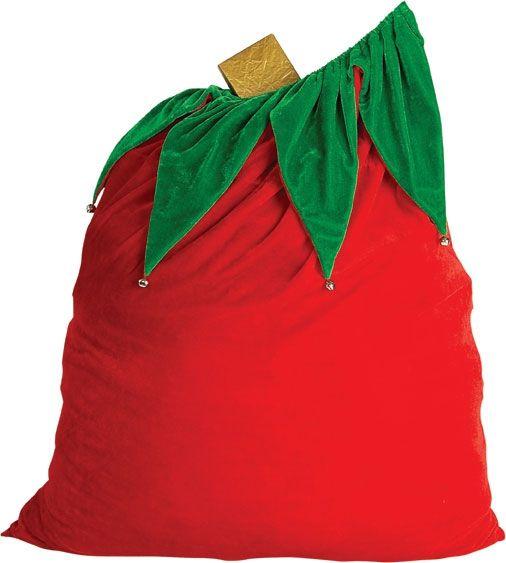 Вельветовый мешок для Санты (UNI) - Новогодние костюмы