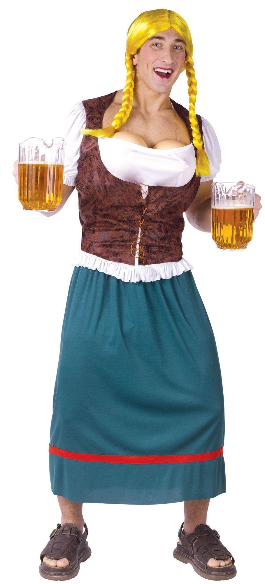 Мужской костюм Баварской красотки (42-52) - Официантки и повара, р.42-52