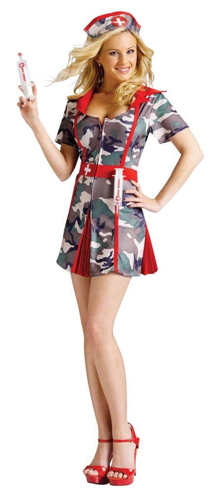 Камуфляжный костюм медсестры (46-48) - Медсестры, р.46-48