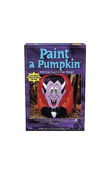 Набор для рисования на тыкве Вампир (UNI) - Аксессуары на Хэллоуин