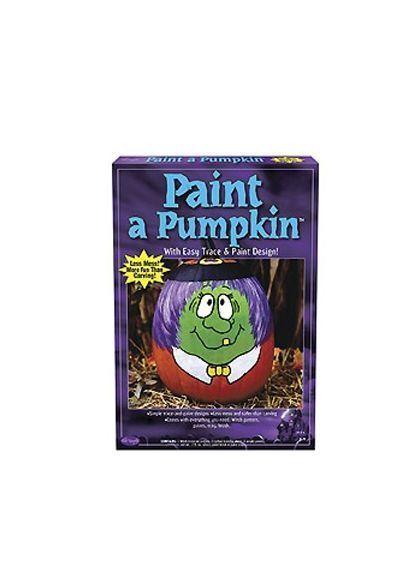 Набор для рисования на тыкве Ведьма (UNI) - Аксессуары на Хэллоуин