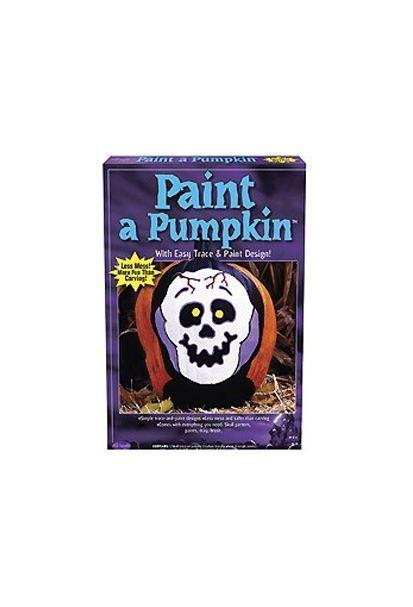 Набор для рисования на тыкве Череп (UNI) - Аксессуары на Хэллоуин