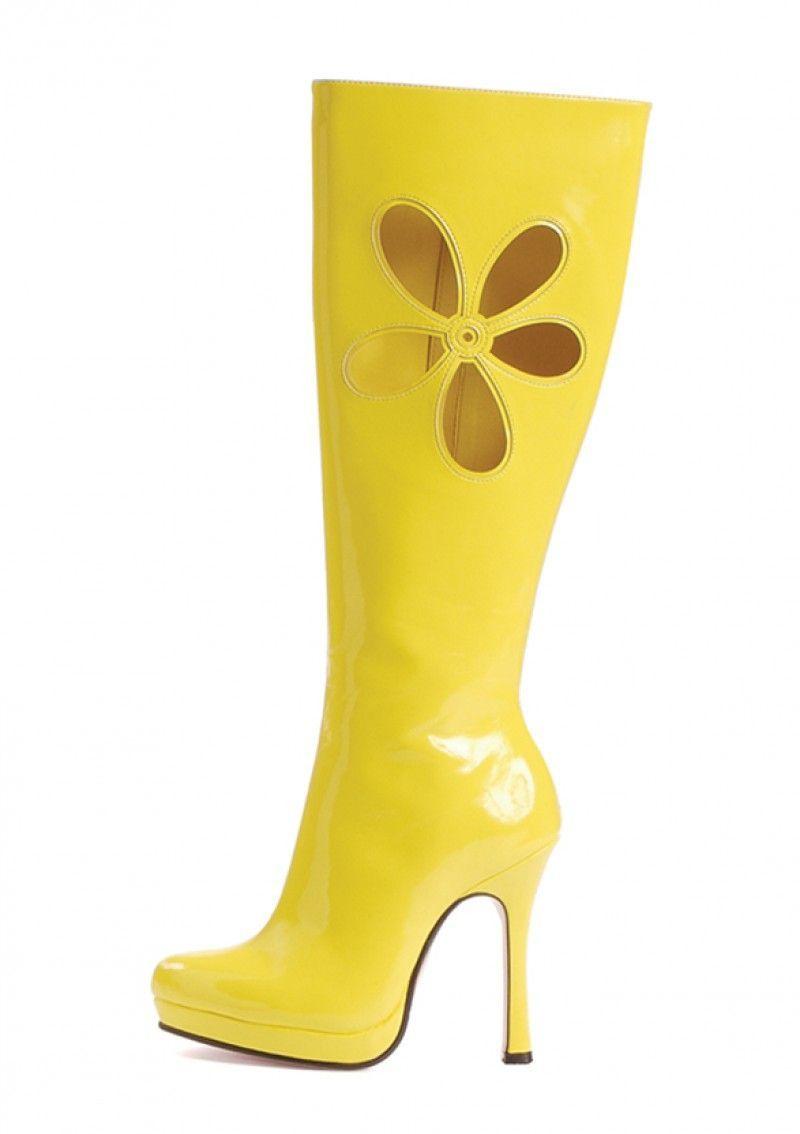 Желтые сапоги для танцев (36)