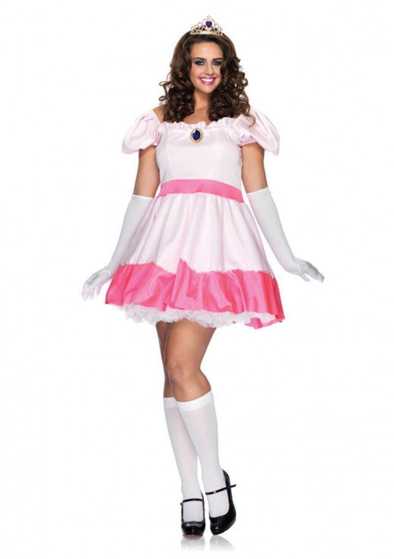 Розовое платьице принцессы (54-58) - Костюмы больших размеров, р.54-58
