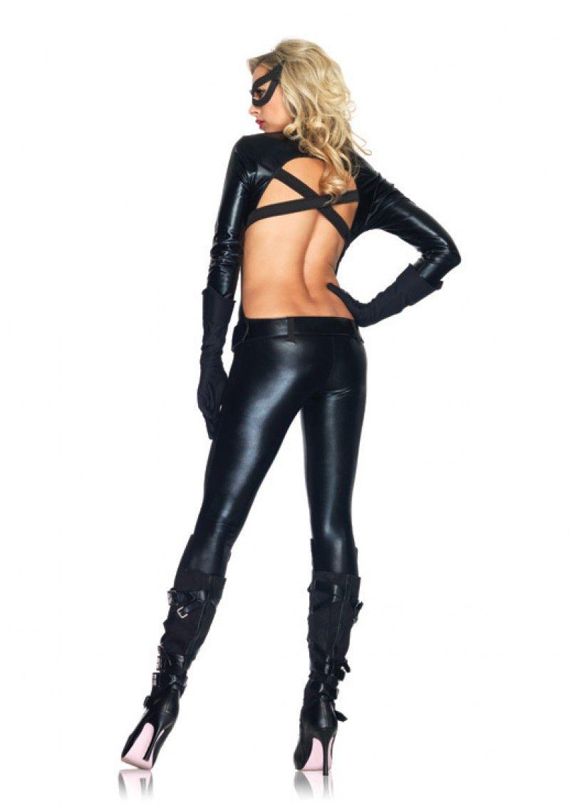 Черный костюм Женщины Кошки (42-44)