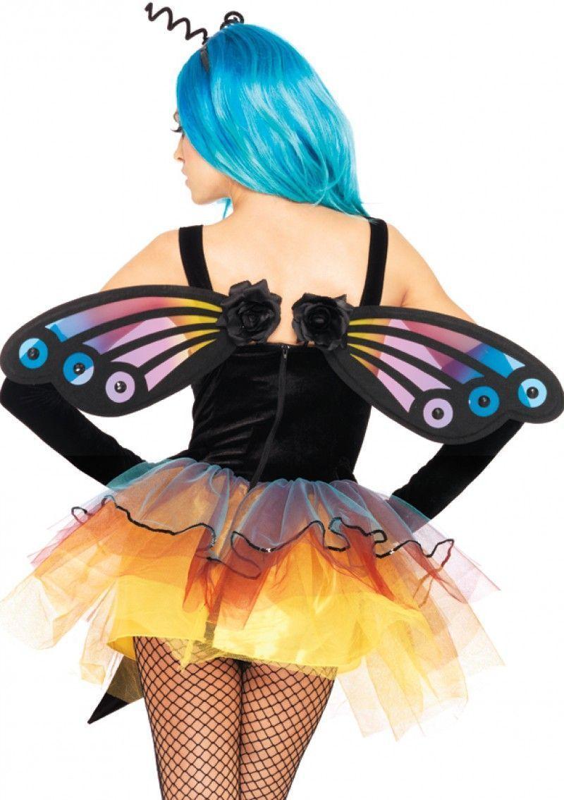 Крылья бабочки с цветочками (UNI) - Ведьмы и колдуны