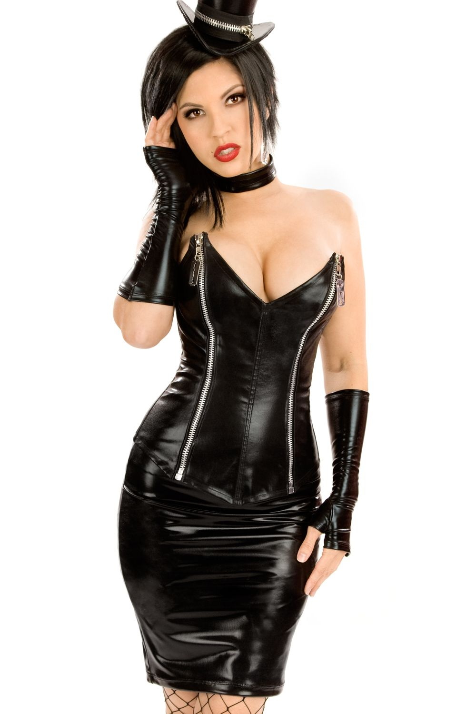 Госпожа в кожаном костюме фото фото 729-538